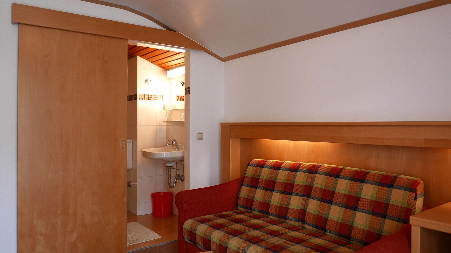 gemütliche Gästezimme im Gasthof Sonnenhof
